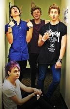 Touring With 5 Seconds of Summer by PropertyofAshton