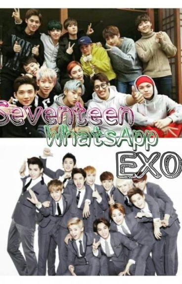 WhatsApp SEVENTEEN & EXO