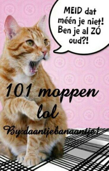 101 moppen