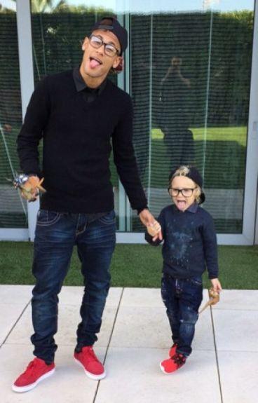 La hija de Cristiano Ronaldo ( Neymar)