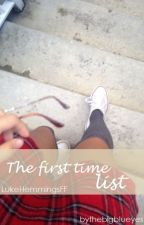 The First Time List • L.H by thebigblueyes