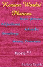 Korean words/Phrases by Mika_Hanabira