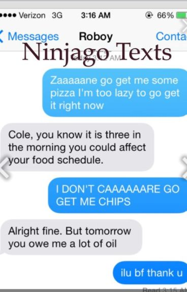 Ninjago texts