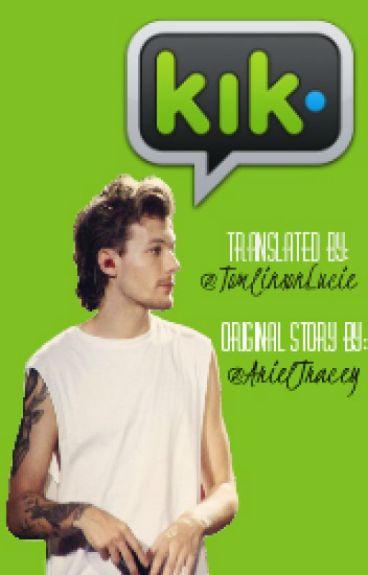 KIK •Harry x Louis• (CZ translation)