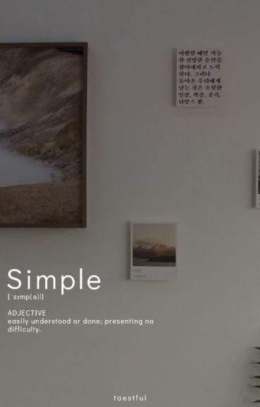 Simple Pleasures ☆ j.j.k + k.t.h