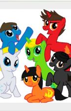 Ninjago Meet MLP by Zanelover1