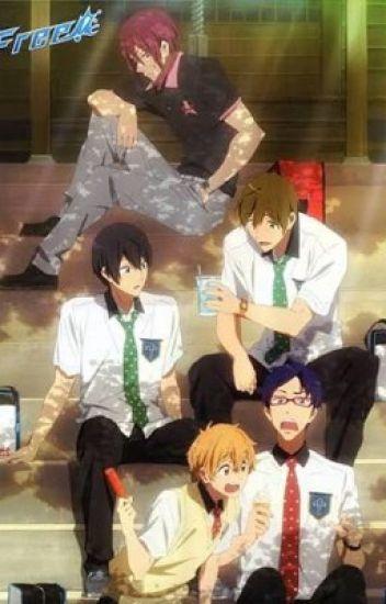 Free! (Makoto, Haru, Nagisa, Rin) x reader!