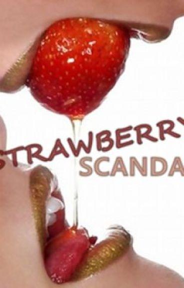 Strawberry Scandal (Lesbian Romance, Sex, gxg)