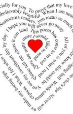 My poems of what I love by emvader2013