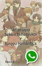 Whatsapp Sekaiichi Hatsukoi Y Junjou Romántica by yaoi33