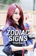 Zodiac Signs. [kpop ver.] by -muchwi