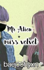 Mr Alien + Ms Velvet♡ (bts v + rv irene) by baejoohyxn