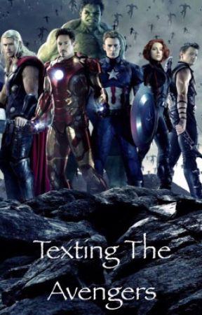 Texting The Avengers by xXtrappedinmymindXx