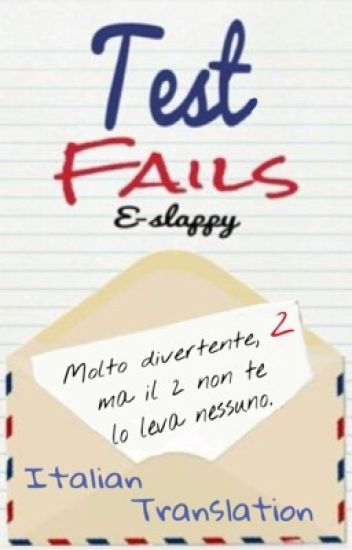 Test fails (italian translation)