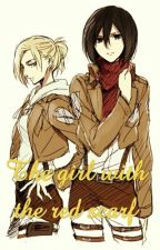 The girl with the red scarf (Mikasa x Annie) by xcandygirl