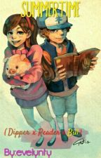 SUMMERTIME  [ Dipper x Reader x Bill ] by evelynty
