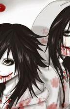 jeff the killer y su reflejo jenn by belenwita