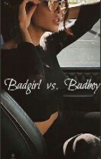 Badgirl  vs.  Badboy by SweetApplePie2014