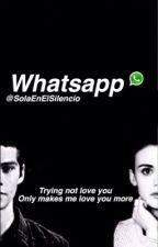 WhatsApp Stydia-[Terminada]© by SolaEnElSilencio