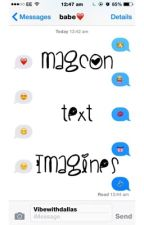 magcon text imagines by VibeWithDallas
