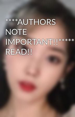 ****AUTHORS NOTE IMPORTANT!!*****PLEASE READ!! by yoshisbug90