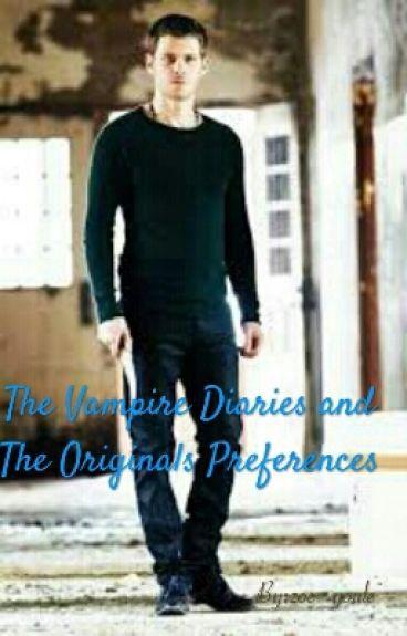 The Vampire Diaries and The Originals Imagines