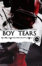 boy tears   ❦     S.W by taekouts