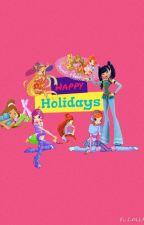 Winx club happy holidays by Diamondwinx