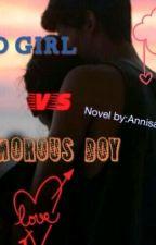 Bad Girl vs Humorous Boy by redsroses