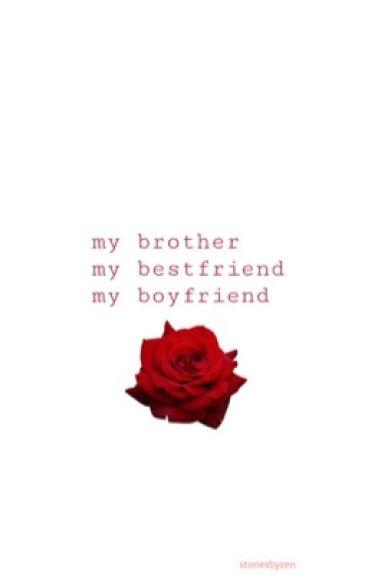 My brother, my best friend & my boyfriend (a Jacksepticeye x Reader fanfic)