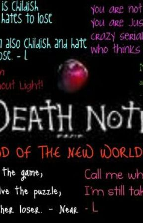 Death Note Quotes Ls Quotes Wattpad