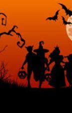 Primer halloween de Gigi y Ana. by brujildasherezade