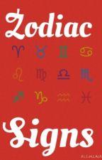 Zodiac Signs by clumsy_dork