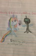 Princess rainbow crystalline dash by Daisyisabelcruz