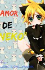 """Amor De Neko""[Len x Tu] by -Al3xand3r-"