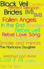 Black Veil Brides... Letras by nancyjimerivegra