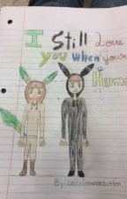 I Still Love You When You're Human (Umbreon X Leafeon) by Alpha-Absol
