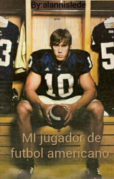 MI jugador de futbol americano.