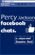 Percy Jackson Facebook Chats by a_aisya