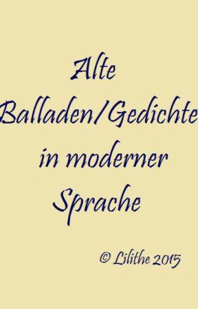 Parodien Und Alte Balladengedichte In Moderner Sprache