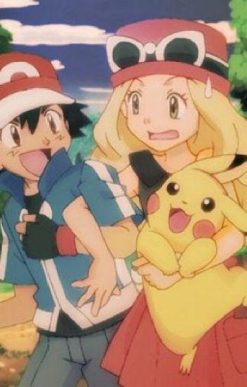 Serena und Ash ein Wiedersehen mit Folgen ❤️