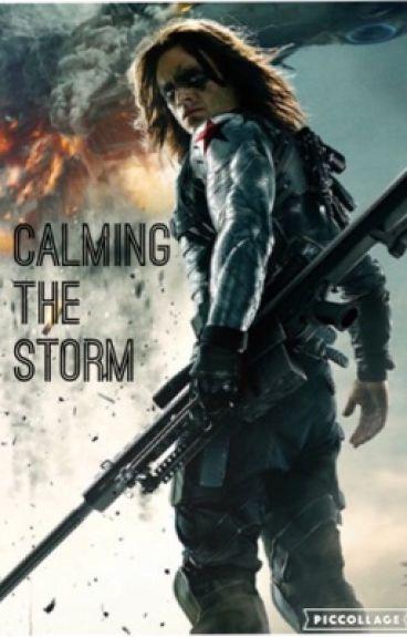 Calming the Storm (Bucky x Reader)