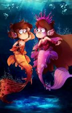 Mermaids (Prince!Bill X Merman!Dipper) by Ciel_and_Payten