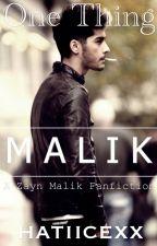 One Thing (a Zayn Malik fanfic) #wattys2015 by hatiicexx