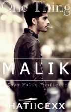 One Thing (a Zayn Malik fanfic) #wattys2015 by hatiicexx