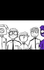 Fnaf security guards x reader by madradical