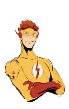 Wally West (Kid Flash) x Reader One-Shot by meow0neko23