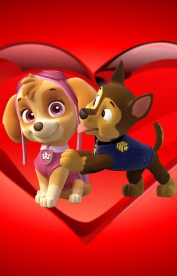 PAW Patrol: Chase and Skye's Love Story (The Adult Version)