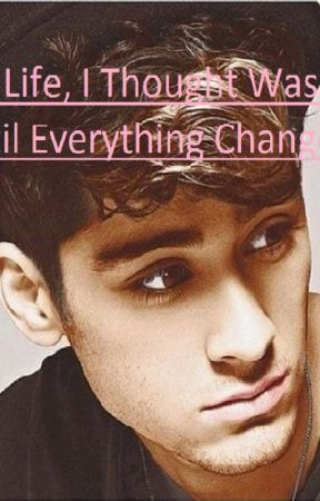 My life, I Thought was ok, until everything changed. Twice. (One D fan-fiction) by Nikky74