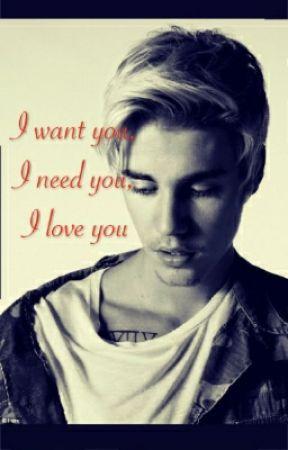 I want you, I need you, I love you :* / Justin Biebber by kumpela977